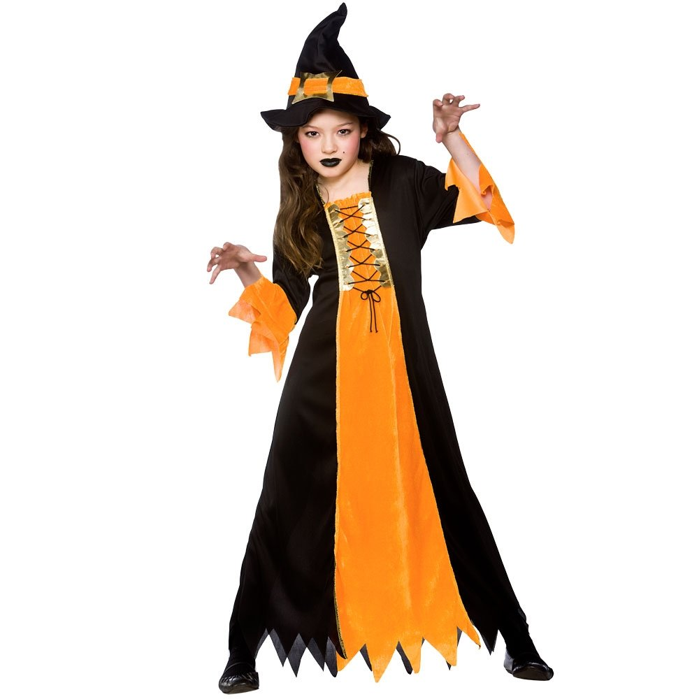 DELUXE-GIRLS-WICKED-WITCH-WITH-HAT-OZ-HALLOWEEN-  sc 1 st  eBay & DELUXE GIRLS WICKED WITCH WITH HAT OZ HALLOWEEN FAIRYTALE FANCY ...