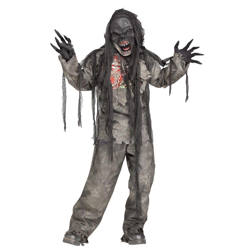 Zombie Undead Skeleton Day of the Dead Halloween Boys Kids Fancy ...