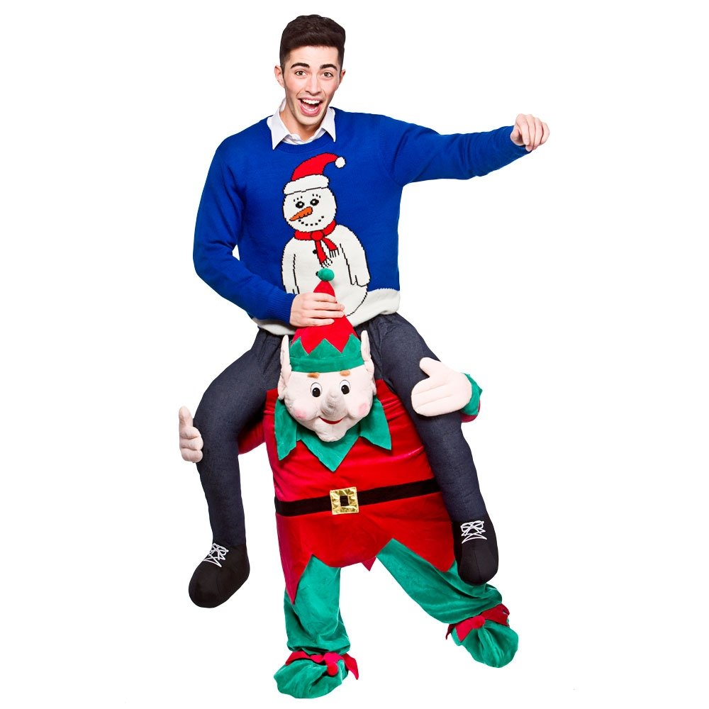 Christmas dress costume - Mens Adult Carry Me Ride On Charity Fun