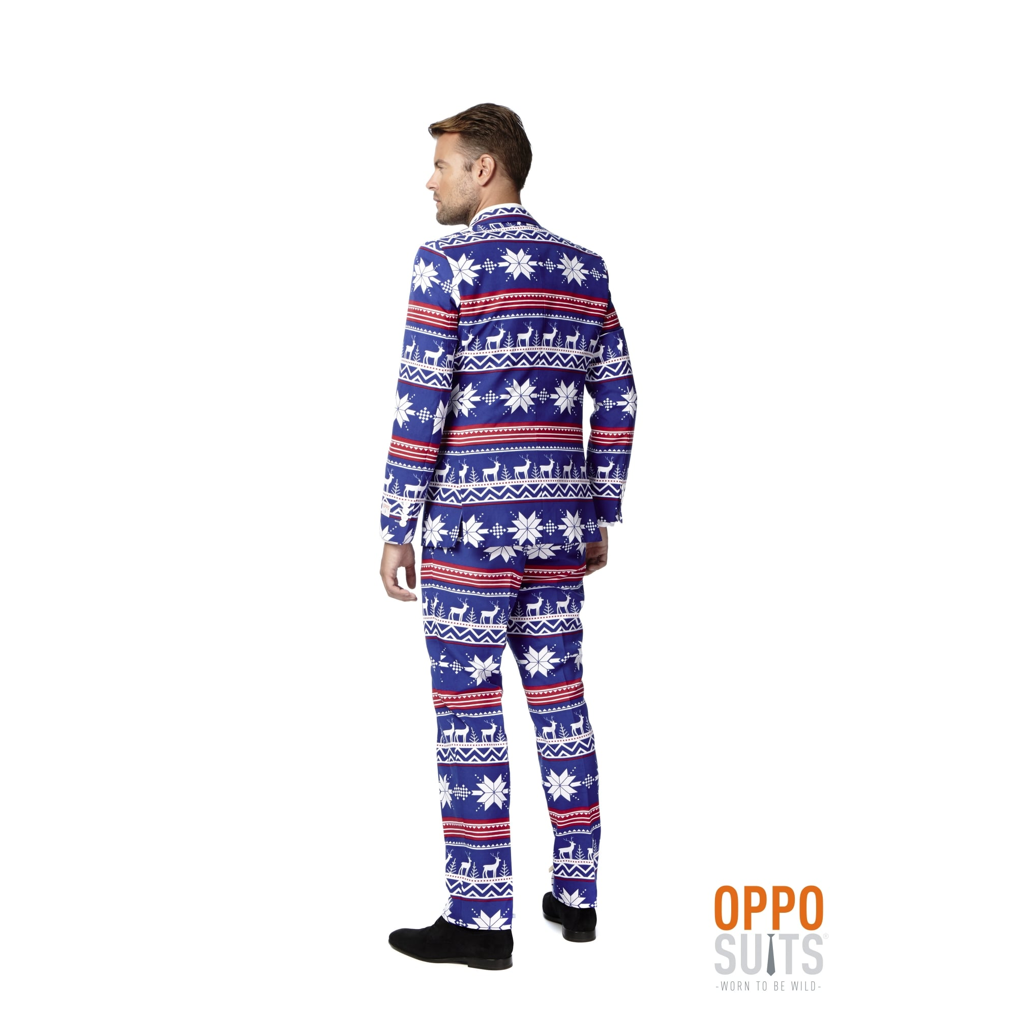 MENS CHRISTMAS FESTIVE SUIT ADULT XMAS PARTY NOVELTY SUITS FANCY ...
